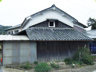 木造家屋の住宅です。